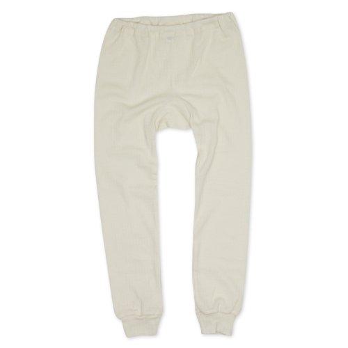 Cosilana Kinder Unterhose, Spezial Qualität 45% kbA Baumwolle, 35% kbT Wolle, 20% Seide, Farbe Natur, Größe 116