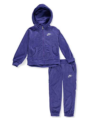 Nike Girls' 2-Piece Sweatsuit - violet, 3t