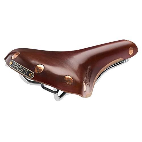 Brooks Swift Chrom Fahrrad Leder Sattel, B360, Farbe braun