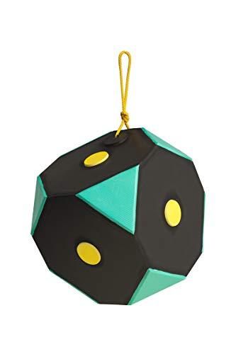 Yate Würfel Polimix Zielscheibe für Bogenschießen Schwarz-Grün 29x29 cm
