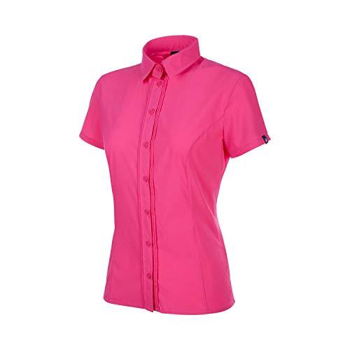 Mammut Damen Trovat Light Kurzarm-Bluse, pink, XS