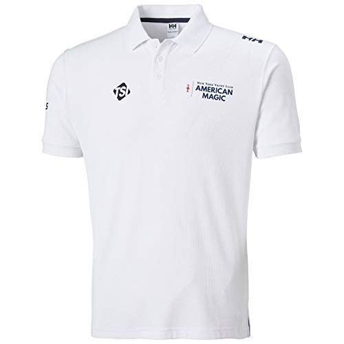 Helly Hansen Riftline Polo pour Homme L Blanc.