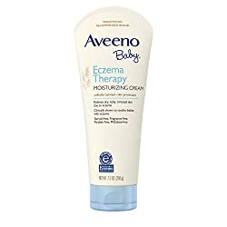 Aveeno Baby Eczema Therapy Moisturizing Cream with Natural Colloidal Oatmeal for Eczema Relief, 7.3