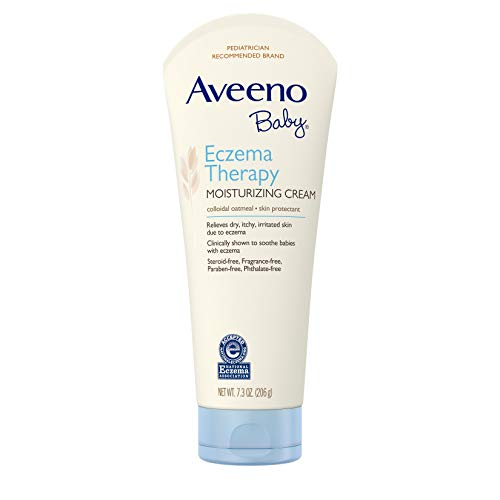 Aveeno Baby Eczema Therapy Moisturizing Cream - 7.3oz