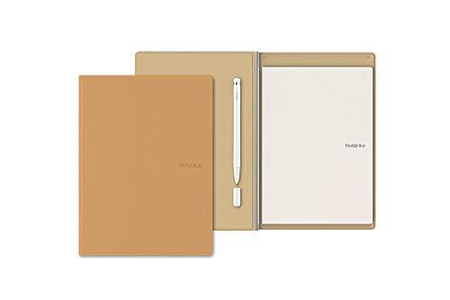 Royole RoWrite 2, wandelt handgeschriebene Notizen mit App in digitalen Text um, kompatibel mit Papier im Standardformat A5, incl. RoWrite Pen 2 Kugelschreiber, Bluetooth-fähig, Farbe Beige