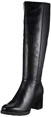Tamaris Damen 1-1-25571-25 Kniehohe Stiefel, schwarz, 36 EU