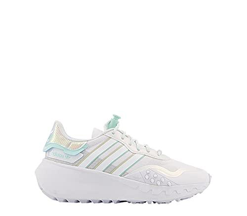 adidas CHOIGO W, Zapatillas Deportivas Mujer, FTWR White Clear Mint Grey One, 38 2 3 EU