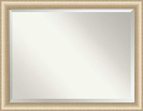 Amanti Art Framed Vanity Mirror | Bathroom Mirrors for Wall | Elegant -