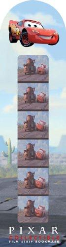 Cars Collectible Film Strip Bookmark (Pixar)