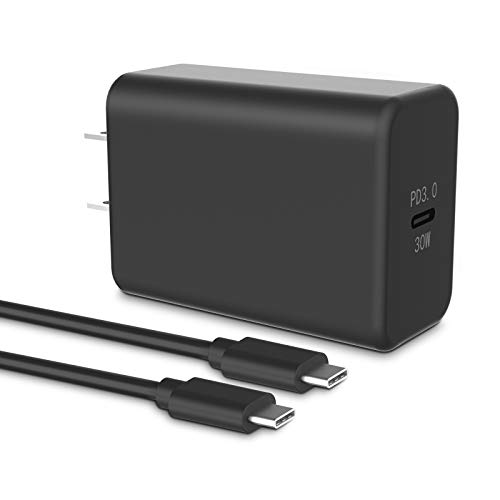 USB C Charger, NANAMI 30W Wall Charger PD3.0 Fast Charging Compatible for iPhone 12/11 Pro Max/SE 2020, iPad Pro, Type C Power Adapter for Samsung S20/S10, Galaxy Note 20/10, 13' MacBook Air and More