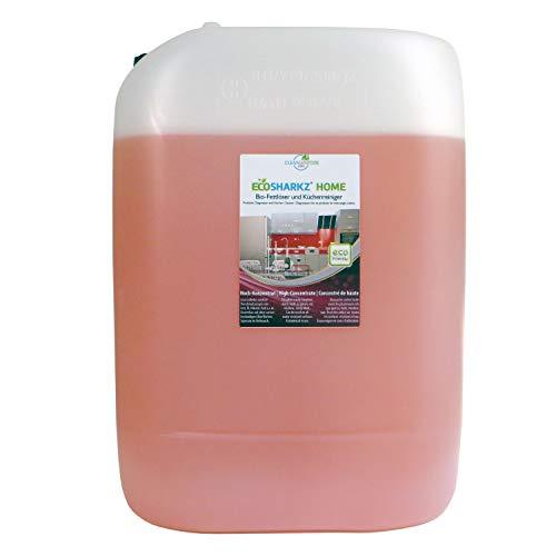 Limpiador de cocina brillante - Spray desengrasante - Limpiador de fuerza ecológico para cualquier superficie brillante (concentrado da 500 litros de limpiador de cocina)