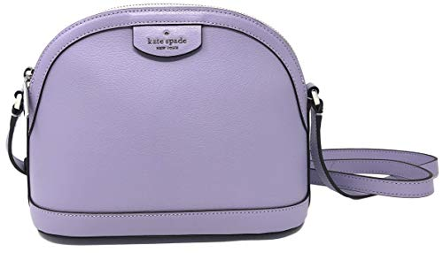 Kate Spade New York Sylvia X-Large Dome Leather Crossbody Bag (Frozen Lila)