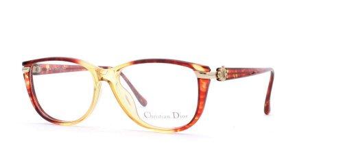 Christian Dior Damen Brillengestell Rot Red Yellow