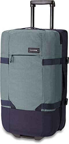 Dakine Split Roller EQ Travel Luggage, Trolley and Sports Bag with Wheels and Telescopic Handle, Green, 75 L