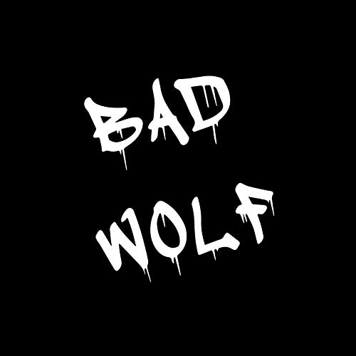 KamiDesigns Dr Who Sticker Inspired Bad Wolf Vinyl Car Decal [6 inches] White Color