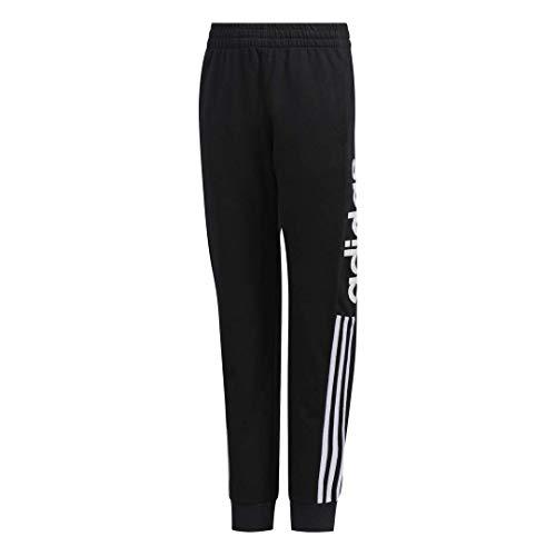 adidas Boys' Big Youth Jogger, Core Linear Black, Medium