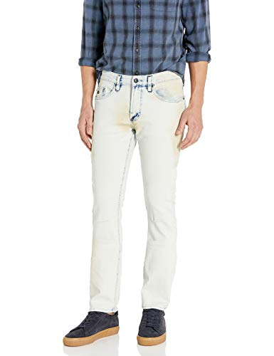 Buffalo David Bitton Herren Max-X Skinny Fit Denim Pant Stretch Basic Jeans, Indigo, 30W / 30L