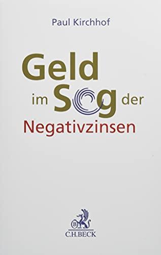 Geld im Sog der Negativzinsen
