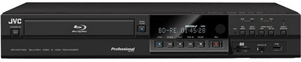 JVC SR-HD1350US Blu-Ray Disc/HDD Recorder