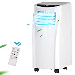 ❆【Fan Mode and 2 Optional Fan Speed: 】The multiple functional portable air conditioner offers fan mode as well as cool, dry, and sleep modes to meet various needs of users. Under the fan mode, there are 2 fan speeds accessible, and you can set the hi...