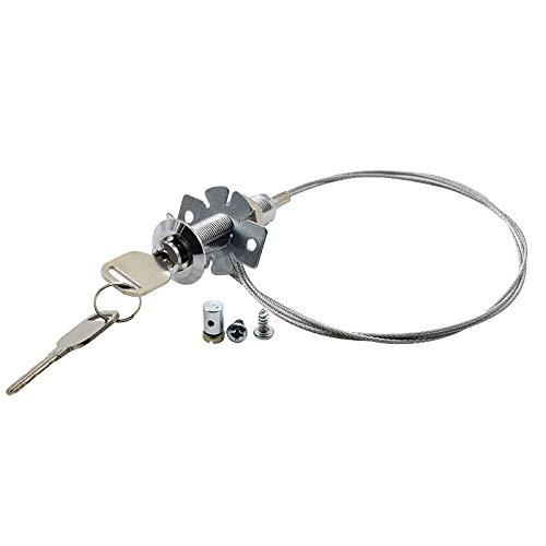 Notentriegelung für Schwingtore Box für Garagentor Sektionaltor Entriegelung von Aussen Garagentorantrieb Tore - Seil aus Stahl
