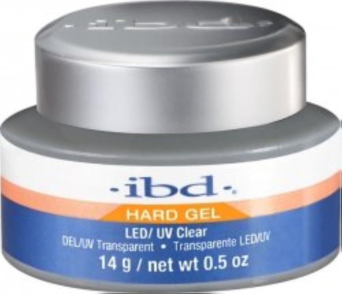 クラス倍率助けになるIBD LED/UV Clear Gel - .5oz 14g [並行輸入品]