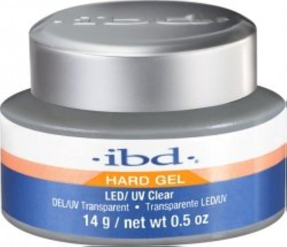 それるサンダル自我IBD LED/UV Clear Gel - .5oz 14g [並行輸入品]