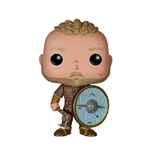 Película Vikings Pop Figuras Ragnar Lothbrok # 177 Vinilo con Caja Figura De Acción PVC Colección De Decoración Niños 10Cm