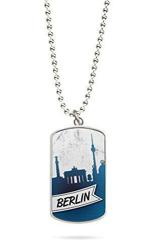 Kette Dog Tag Anhänger Berlin