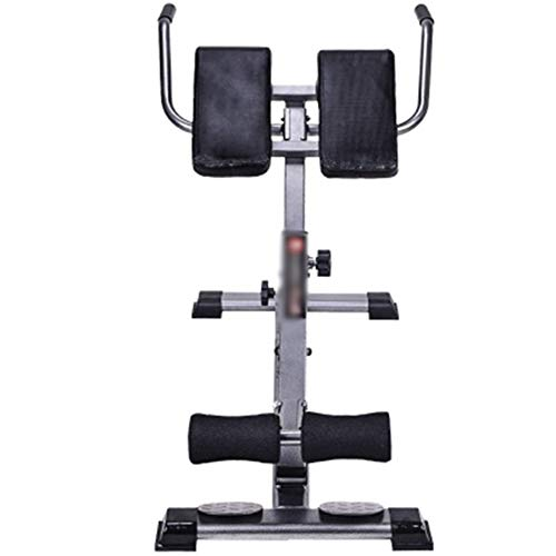 ZXCV RöMischer Stuhl, RüCkentrainer Verstellbar Hyperextension, Bauchtrainer Verstellbar Mit Gepolsterter Beinfixierung, Faltbar, Maximale Belastung 300 Kg