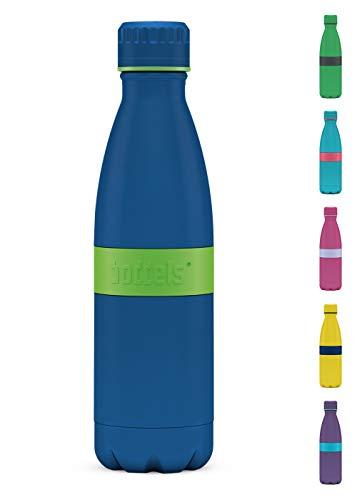 boddels Trinkflasche TWEE+ 500ml - Deine Isolierflasche für jeden Anlass (Apfelgrün/Blau)