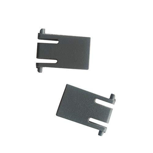 Buwei Soporte de Pata para Teclado de 2 Piezas para Piezas de reparación de Teclado logitech K120