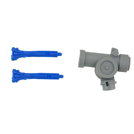 Imaginext Firehouse Playset #N0764 - Replacement Gray Water Cannon and Blue Projectiles