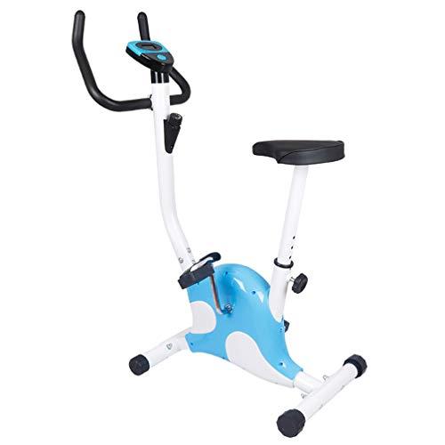 Stationary Spin Bike, Attrezzatura Cardio Fitness Portatile Bici Ultra Silenziosa con Display LCD, Home Outdoor Office Perdere Peso Attrezzatura Fitness Spinning Bike