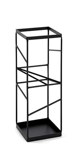 HAKU Möbel Schirmständer, Stahlrohr, 17 x 17 x 49 cm