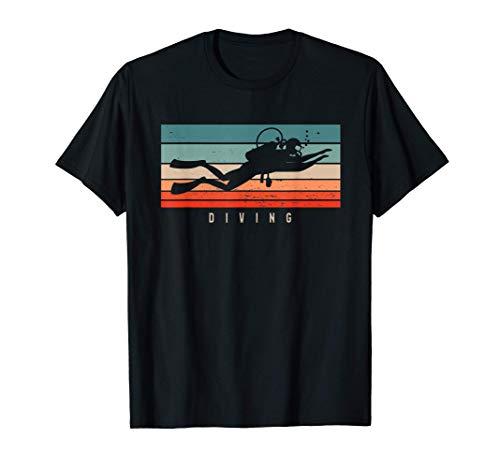 Camisas de buceo Vintage Camiseta