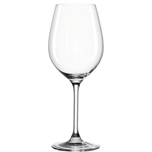 Leonardo Barcelona Rotwein-Gläser, Rotwein-Kelch mit gezogenem Stiel, spülmaschinenfeste Wein-Gläser, 6er Set, 520 ml, 062065