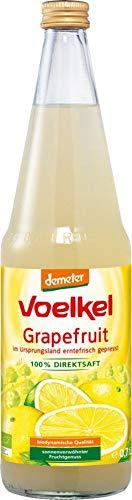 Voelkel Bio Grapefruitsaft - 100% Direktsaft (6 x 700 ml)