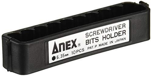 兼古製作所 アネックス ANEX ビットホルダー 10本収納 ABH-10