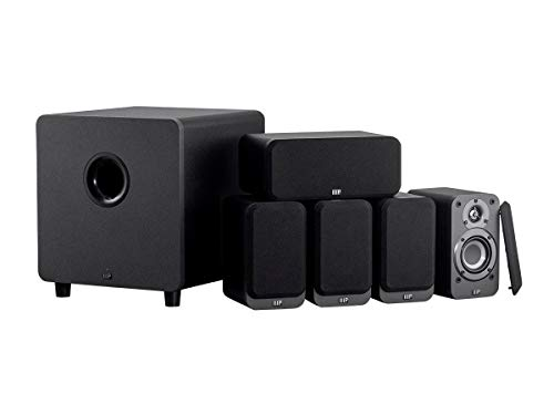 Learn More About Monoprice HT-35 Premium 5.1-Channel Home Theater System - Charcoal, with Powered Su...