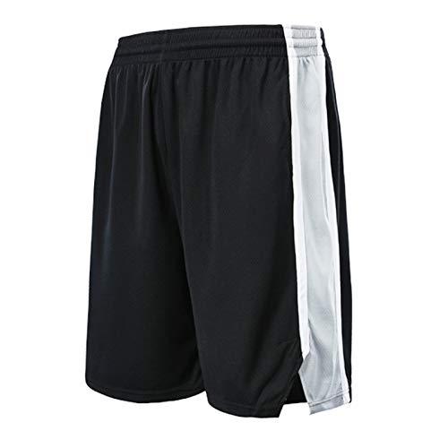 WWWJ Sān / ntōniō Spşrs schwarze Swingman Icon Performance Shorts, Stdengts Shorts, beliebteste Shorts Gr. 56, Schwarz