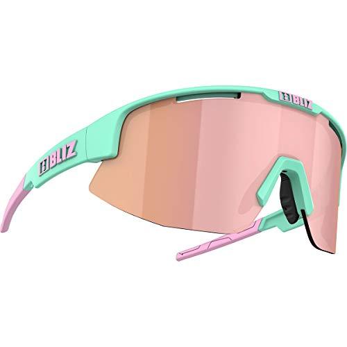 Bliz Matrix Sportbrille, matt Mint-Brown Rose Multi