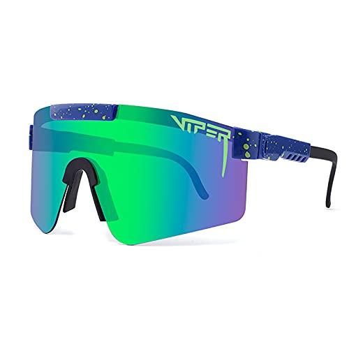 Gafas de sol polarizadas deportivas para hombres y mujeres lentes UV400 protección gafas de sol deportivas para ciclismo y correr gafas
