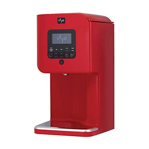 LEVO II - Herbal Oil and Butter Infusion Machine - Botanical Decarboxylator, Herb Dryer and Oil Infuser - Mess-Free and Easy to Use - WiFi-Enabled via Programmable App (Cayenne Red)