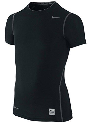 Nike - Camiseta - Niños^Niñas, Infantil, color Negro - negro, tamaño grande infantil