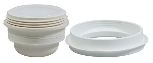 Alfi Ersatz Stopfen/Verschluss und Dichtungsring für diverse Isolierkannen ab 1 Liter (siehe Produktbeschreibung)
