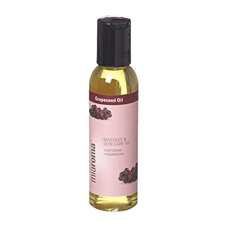 松の木三検出するMiaroma Grapeseed Massage Base Oil (Pack of 2) - Miaromaのブドウマッサージベースオイル (x2) [並行輸入品]