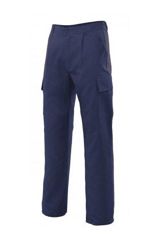 Velilla 31601 Pantalones, Azul marino, Talla 42