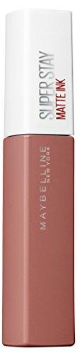 Maybelline New York Super Stay Matte Ink Un-Nudes Lippenstift - flüssiger Lippenstift, bis zu 16 Stunden Halt, intensive & langanhaltende Farben, mattes Finish, Nr. 60 Poet, 5 ml