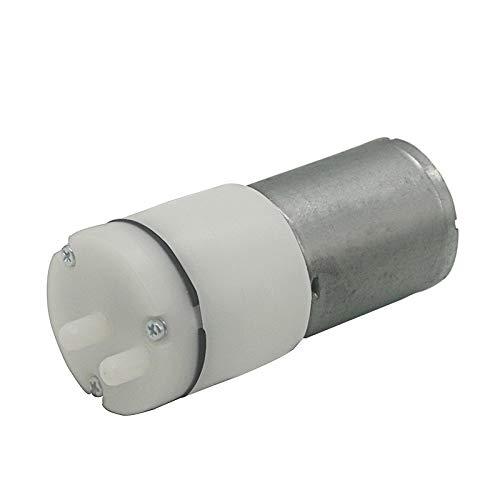 WNJ-TOOL, 1pc 6V DC 370 High-Power Klein Mini Micro Luftpumpe Aquarium Luft Vakuum mit Lufteinlass und Entlüfter (Größe : 6V)